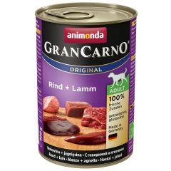 Animonda - Nassfutter - GranCarno Adult Rind + Lamm (getreidefrei)