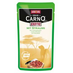 Animonda - Nassfutter - GranCarno Exotic mit Strauß (getreidefrei)