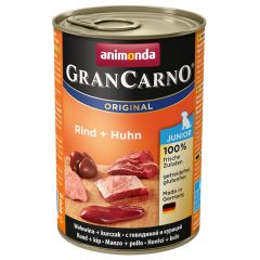 Animonda - Nassfutter - GranCarno Junior Rind + Huhn (getreidefrei)