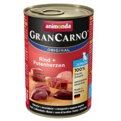 Animonda - Nassfutter - GranCarno Junior Rind + Putenherzen (getreidefrei)