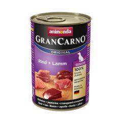 Animonda - Nassfutter - GranCarno Senior Rind + Lamm (getreidefrei)