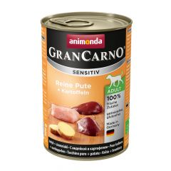 Animonda - Nassfutter - GranCarno Sensitiv Adult Reine Pute + Kartoffeln (getreidefrei)