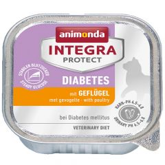 Animonda - Nassfutter - Integra Protect Adult Diabetes mit Geflügel (getreidefrei)
