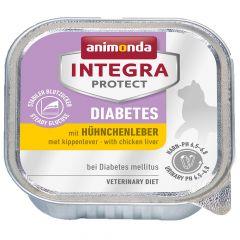 Animonda - Nassfutter - Integra Protect Adult Diabetes mit Hühnchenleber (getreidefrei)