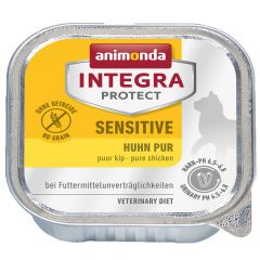 Animonda - Nassfutter - Integra Protect Adult Sensitive Huhn Pur 16 x 100g