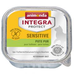 Animonda - Nassfutter - Integra Protect Adult Sensitive Pute Pur 16 x 100g