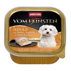Animonda - Nassfutter - Vom Feinsten Adult mit Huhn, Joghurt + Haferflocken