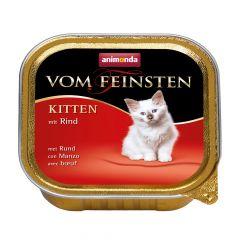 Animonda - Nassfutter - Vom Feinsten Kitten mit Rind (getreidefrei)