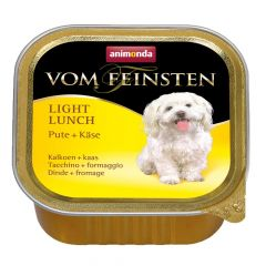 Animonda - Nassfutter - Vom Feinsten Light Lunch Pute + Käse