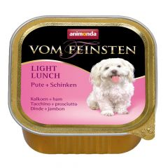 Animonda - Nassfutter - Vom Feinsten Light Lunch Pute + Schinken