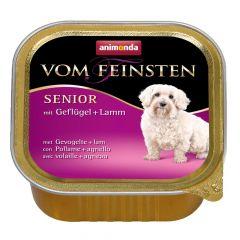 Animonda - Nassfutter - Vom Feinsten Senior mit Geflügel + Lamm (getreidefrei)