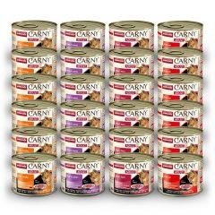 Animonda - Nassfutter - Vorteilspaket Mix Carny Adult 12 x 200g (getreidefrei)