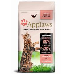 Applaws Cat - Trockenfutter - Hühnchen und Lachs (getreidefrei)