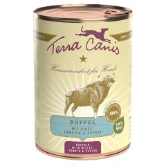 Terra Canis - Nassfutter - Büffel classic mit Hirse, Tomaten & Papaya