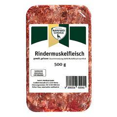 Barfer's Wellfood - Hundefutter - Barfer's Choice Rindermuskelfleisch gewolft