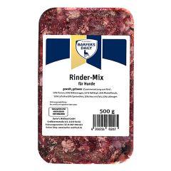 Barfer's Wellfood - Hundefutter - Barfer's Daily Rinder-Mix gewolft