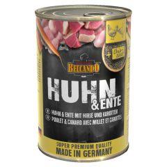 Belcando - Nassfutter - Huhn & Ente mit Hirse & Karotten 6 x 400g