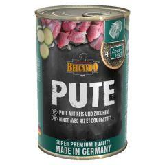 Belcando - Nassfutter - Pute mit Reis & Zucchini 6 x 400g