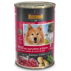 Belcando - Nassfutter - Rind mit Kartoffeln & Erbsen (weizenfrei)