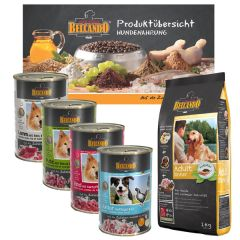 Belcando - Hundefutter - TV Probe Paket mit 1kg Trockenfutter + 4 x 400g Nassfutter + Broschüre