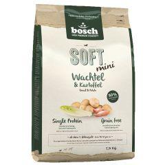 Bosch - Trockenfutter - Soft Adult Mini Wachtel und Kartoffel (getreidefrei)