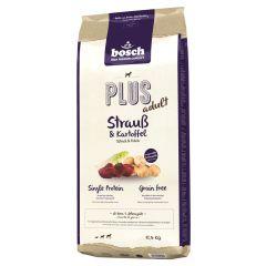Bosch - Trockenfutter - Plus Adult Strauß und Kartoffel (getreidefrei)