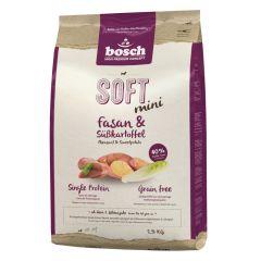 Bosch - Trockenfutter - Soft Mini Fasan und Süßkartoffel (getreidefrei)