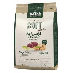 Bosch - Trockenfutter - Soft Mini Rehwild und Kartoffel (getreidefrei)