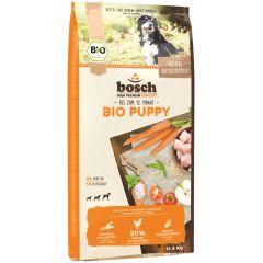 Bosch - Trockenfutter - Bio Puppy Hühnchen und Karotten