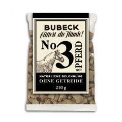 Bubeck - Hundesnack - No. 3 mit Pferd (getreidefrei)