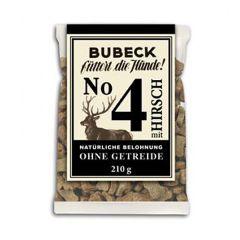 Bubeck - Hundesnack - No. 4 mit Hirsch (getreidefrei)