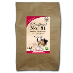 Bubeck - Trockenfutter - No. 81 Adult Rindfleisch