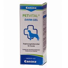 Canina - Ergänzungsfutter - Petvital Darm Gel