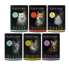 Cat's Love - Nassfutter -  Mixpaket Adult (getreidefrei)