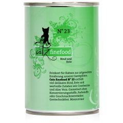 Catz finefood - Nassfutter - No.23 Rind & Ente (getreidefrei)