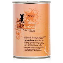 Catz finefood - Nassfutter - No.25 Huhn & Thunfisch (getreidefrei)