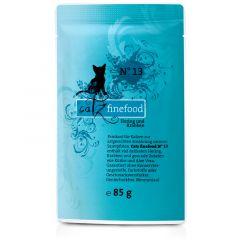 Catz finefood - Nassfutter - No.13 Hering & Krabben (getreidefrei)