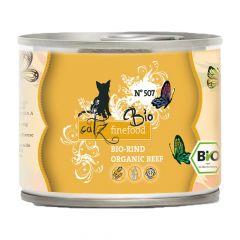 Catz finefood - Nassfutter - Bio No. 507 Rind (getreidefrei)