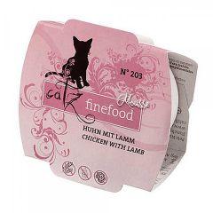 Catz finefood - Nassfutter - Mousse No.203 Huhn mit Lamm (getreidefrei)