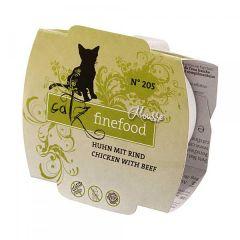 Catz finefood - Nassfutter - Mousse No.205 Huhn mit Rind (getreidefrei)