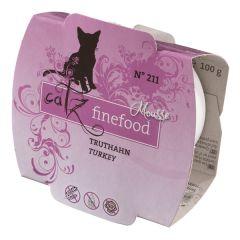 Catz finefood - Nassfutter - Mousse No.211 Truthahn (getreidefrei)