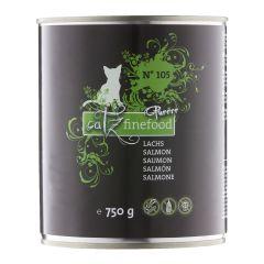 Catz finefood - Nassfutter - Purrrr No.105 Lachs (getreidefrei)