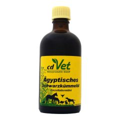 cdVet - Nahrungsergänzung - Ägyptisches Schwarzkümmelöl, kalt gepresst