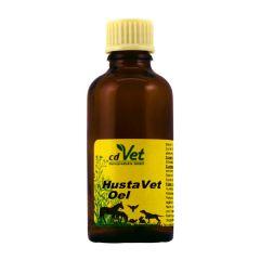 cdVet - Ergänzungsfutter - HustaVet Öl