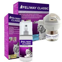 Ceva - Zubehör - Premium Paket Feliway Classic Start Set 48ml + Feliway Spray 60ml