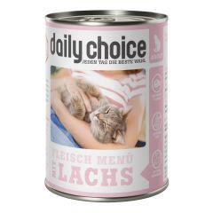 daily choice - Nassfutter - Fleischmenü mit Lachs (getreidefrei)