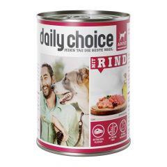 daily choice - Nassfutter - Mit Rind (getreidefrei)