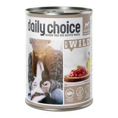 daily choice - Nassfutter - Mit Wild (getreidefrei)