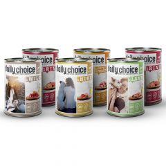 daily choice - Nassfutter - Probe-Paket für Hunde (getreidefrei)