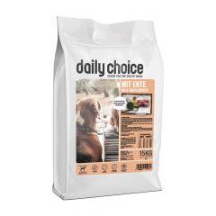 daily choice - Trockenfutter - Mit Ente, Reis und Erbsen 15kg
